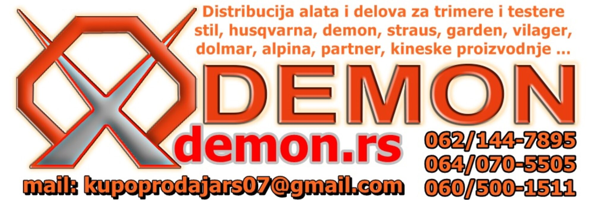 ALATI DELOVI: DMD / LJUBA – SUBOTICA – PRIJEPOLJE – internet prodaja